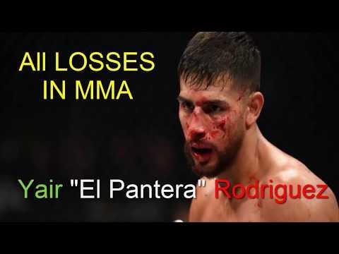 "Yair ""El Pantera"" Rodríguez ~ ALL LOSSES IN MMA 2019 ~ YAIR RODRIGUEZ HIGHLIGHTS"