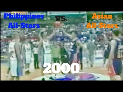 2000 ABC All Star Game. PBA (Philippines) All-Stars vs. ABC (FIBA-Asia) All-Stars