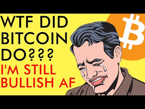 WTF DID BITCOIN JUST DO??? BUY DON'T SELL!!! CRYPTO MARKET STILL BULLISH AF IN 2020