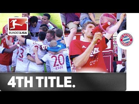Congratulations! Bayern München are 2016 Bundesliga Champions