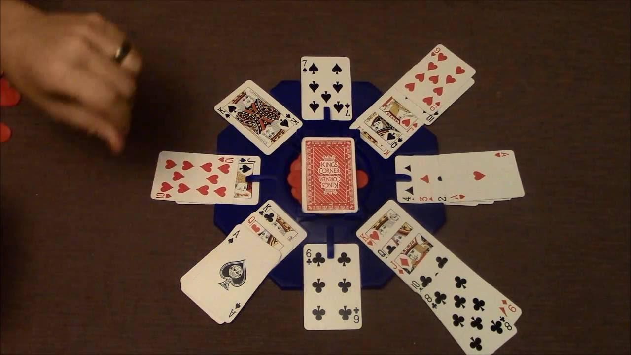 Kings in the Corner Game