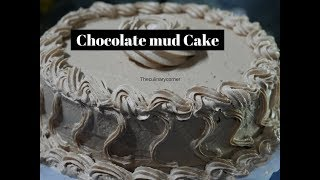 Chocolate Mud Cake with a Chocolate buttercream Icing