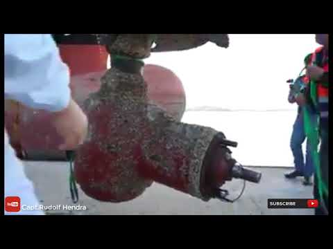 Repairing bow thruster