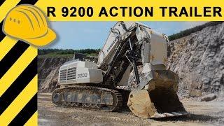 Liebherr Bagger R 9200 Action Trailer - Heavy Equipment Porn - Baggerporn - Bauforum24 TV - 4K
