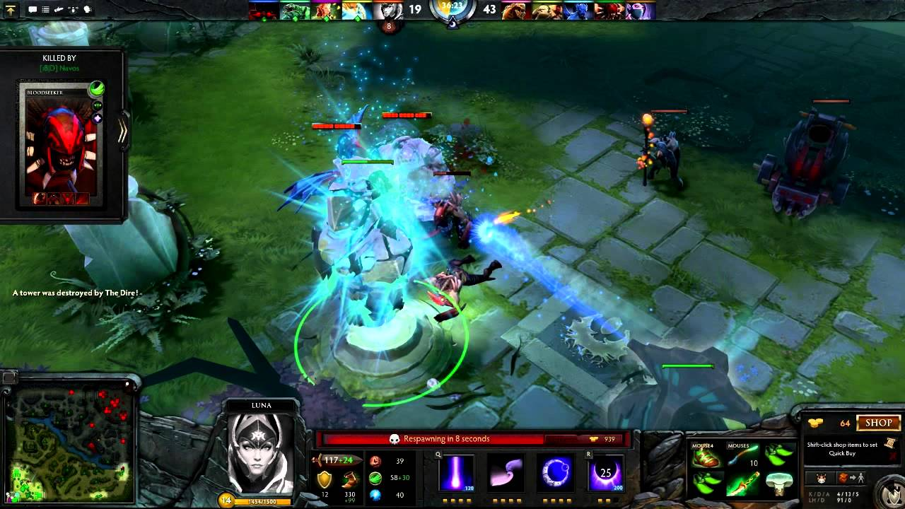 dota 3 official e3 trailer youtube