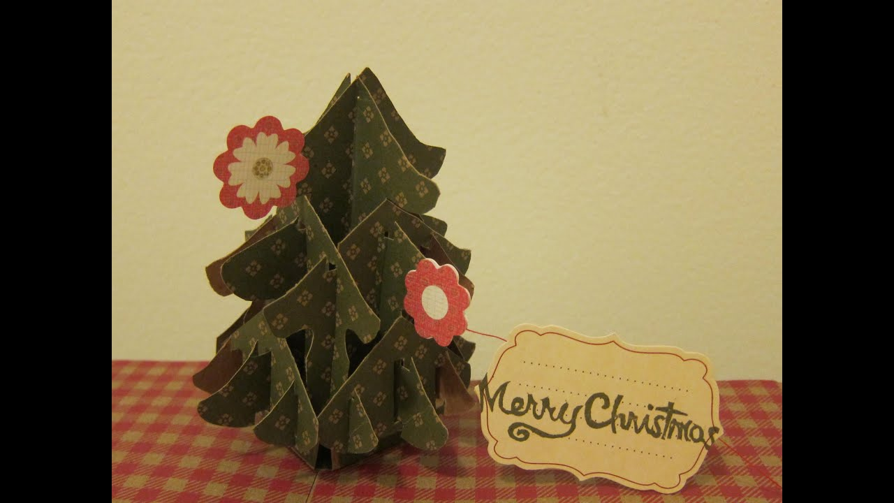 1 Min Tutorial-Christmas Tree Pop Up Card.mov