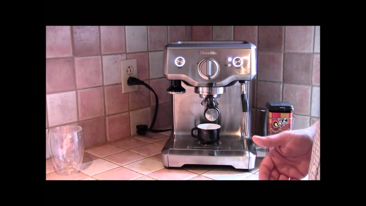 Bajaj Espresso Coffee Maker Demo : Demo of the Breville Duo-Temp Espresso Machine - YouTube