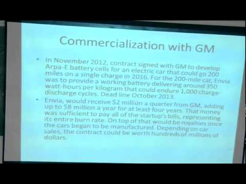 Talk on Technology Commercialization by Dr. A.S.Rao