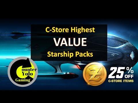 Highest Value Starship Packs from the C-Store | Star Trek Online