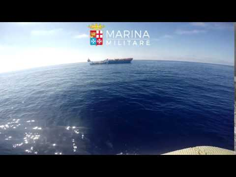 Over 700 Migrants Rescued by Italian Navy Off Strait of Sicily
