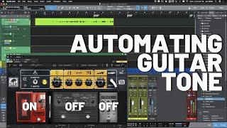 Automating Guitar Tone in #StudioOne