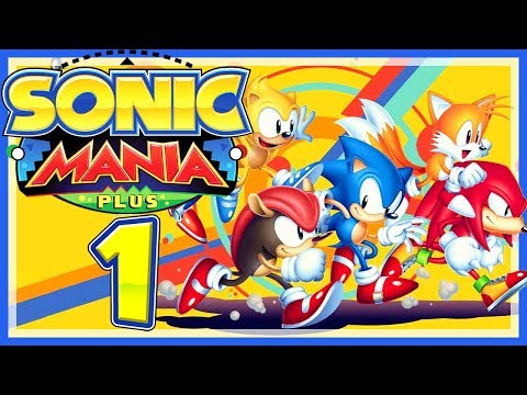SONIC MANIA PLUS # 01 🦔 Mighty & Ray gefangen in der Angel Island Zone! [HD60] Sonic Mania Plus