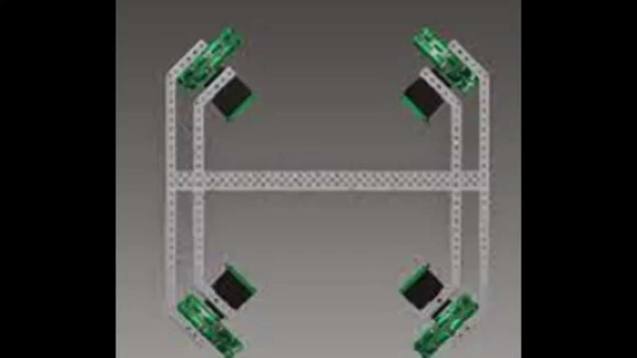 I Xdrive >> Vex Holonomic drives - YouTube
