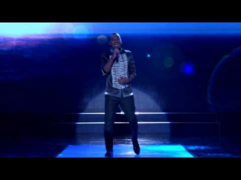 Roland Performs Even If My Heart Will Break BY Aaron Neville On MTNProjectfame Season6.0 Stage