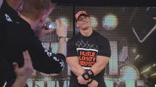 WWE Network John Cena makes a surprise return at Royal Rumble 2008