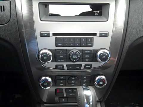 2010 Ford Fusion Interior Wmv Youtube