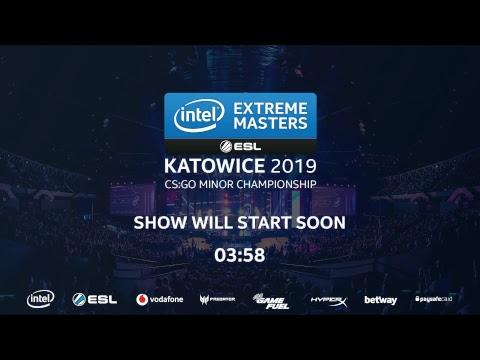 Live: CS:GO - Matchday 2 - IEM Katowice 2019 Minor - Stream A