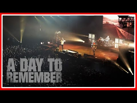 A Day To Remember - All I Want (Live @ Adelaide ... A Day To Remember Live 2014