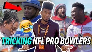 Magician Jibrizy Does NEW STREET MAGIC On NFL Pro Bowlers! JuJu, Von Miller & More Are SHOOK 😱