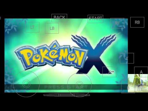 Pokemon X Citra Gameplay