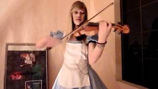 Lara Plays The Theme From 'Alice: Madness Returns' On Violin, As Alice!