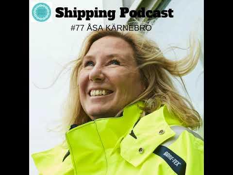 077 Åsa Kärnebro, Harbour Master, Port of Gothenburg