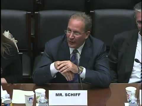 Mr. Schiff goes to Washington. Peter Schiff's  - First Congressional Testimony