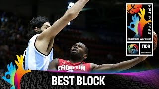 Argentina v Croatia - Best Block - 2014 FIBA Basketball World Cup