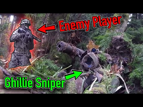 Don't Tread On Me - INVISIBLE GHILLIE - Silent Sniper - Silverback SRS