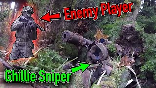 Don T Tread On Me INVISIBLE GHILLIE Silent Sniper Silverback SRS