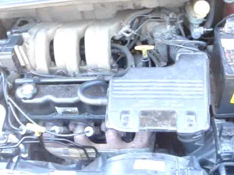 How to change a starter on a Dodge Caravan 1996,1997,1998,1999MPG