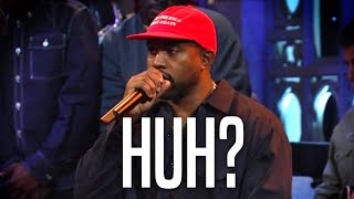 WATCH: Kanye West Concocts Insane Conspiracy Theory About Democrats