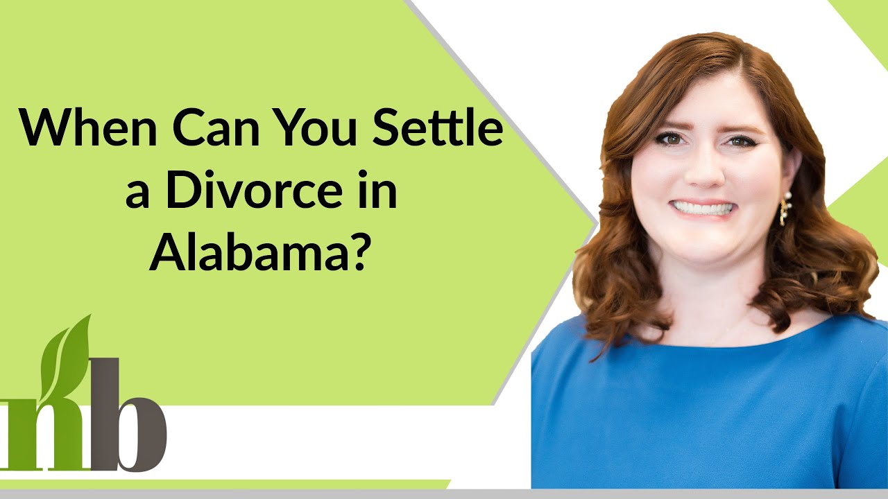 When Can You Settle a Divorce in Alabama? | Huntsville ...