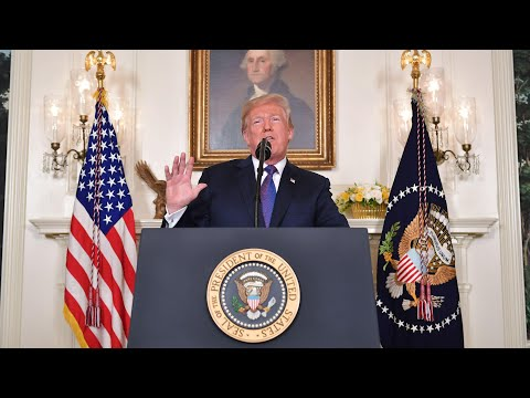 \'A strong deterrent\': Trump announces strikes on Syria