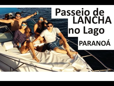 Passeio De Lancha Lago Paranoá Brasilia | Maérly Abreu