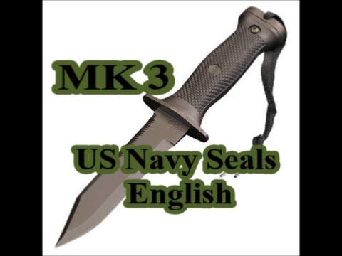 USN SEALs MK3 Mod. 0 Survival Knife