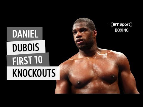 Countdown: Daniel Dubois' first 10 knockouts