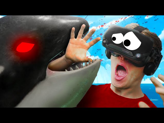So this is how it feels TO BE EATEN BY A WHALE in VR!!?! - Suicide Guy VR