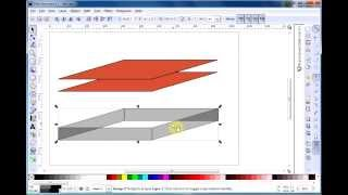 Inkscape extrude effect - create 3d boxes