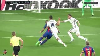 مباراة الكلاسيكو برشلونة وريال مدريد 3-2 الدوري الاسباني (شاشة كاملة ) تعليق العتيبي HD