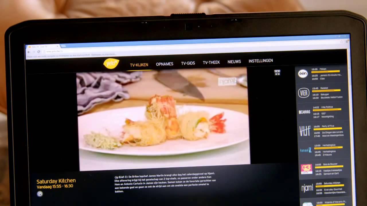Download Yelo TV op computer  live TV kijken   YouTube 720p