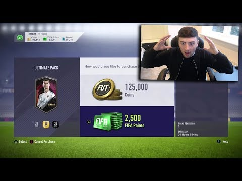 FIFA 18 | OPENING 125K PACKS 💩 THE MOST EXPENSIVE PACKS 🤑
