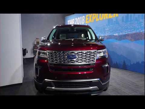 New Ford Explorer 2018 Platinum - Exterior and Interior Pics