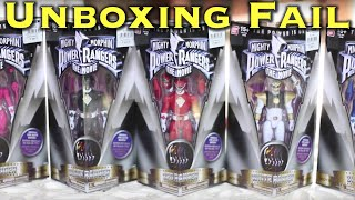 UNBOX: Unboxing Fail (Power Rangers Movie Figures)