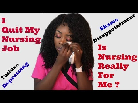 I Quit My Nursing Job | Nursing Is Not For Me. ? | Stress | Shame