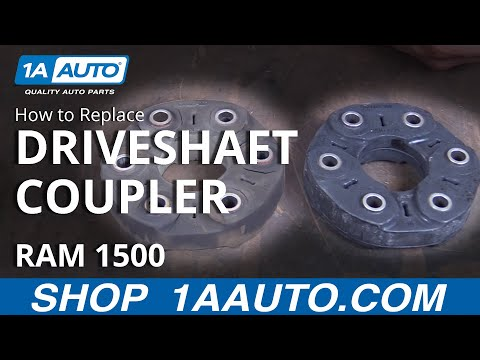 How to Replace Install Driveshaft Coupler 2005-07 Cadillac CTS
