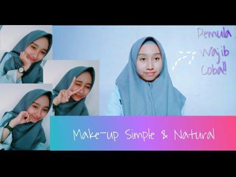 #makeupsimple-#makeupnatural-make-up-simple-dan-natural-untuk-sehari-hari💜