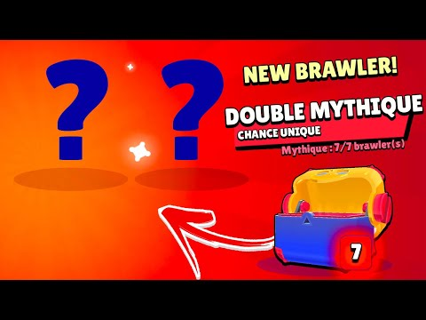UNE CHANCE INCROYABLE vraiment... (brawl stars pack opening)