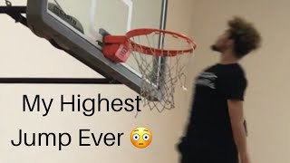 Isaiah Rivera Highest Jumping Day Ever: Eastbay Elbow Dunk Video