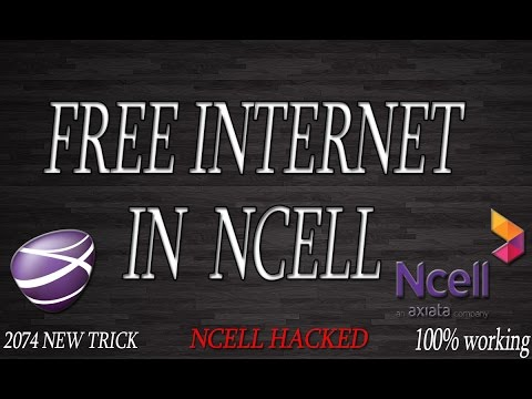 How to Use Free Internet in Ncell-2074 || New Trick